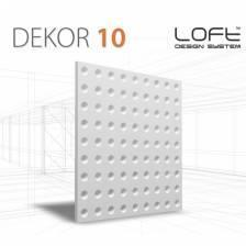 DEKOR 10 OPTIC PANEL ŚCIENNY 3D LOFT SYSTEM